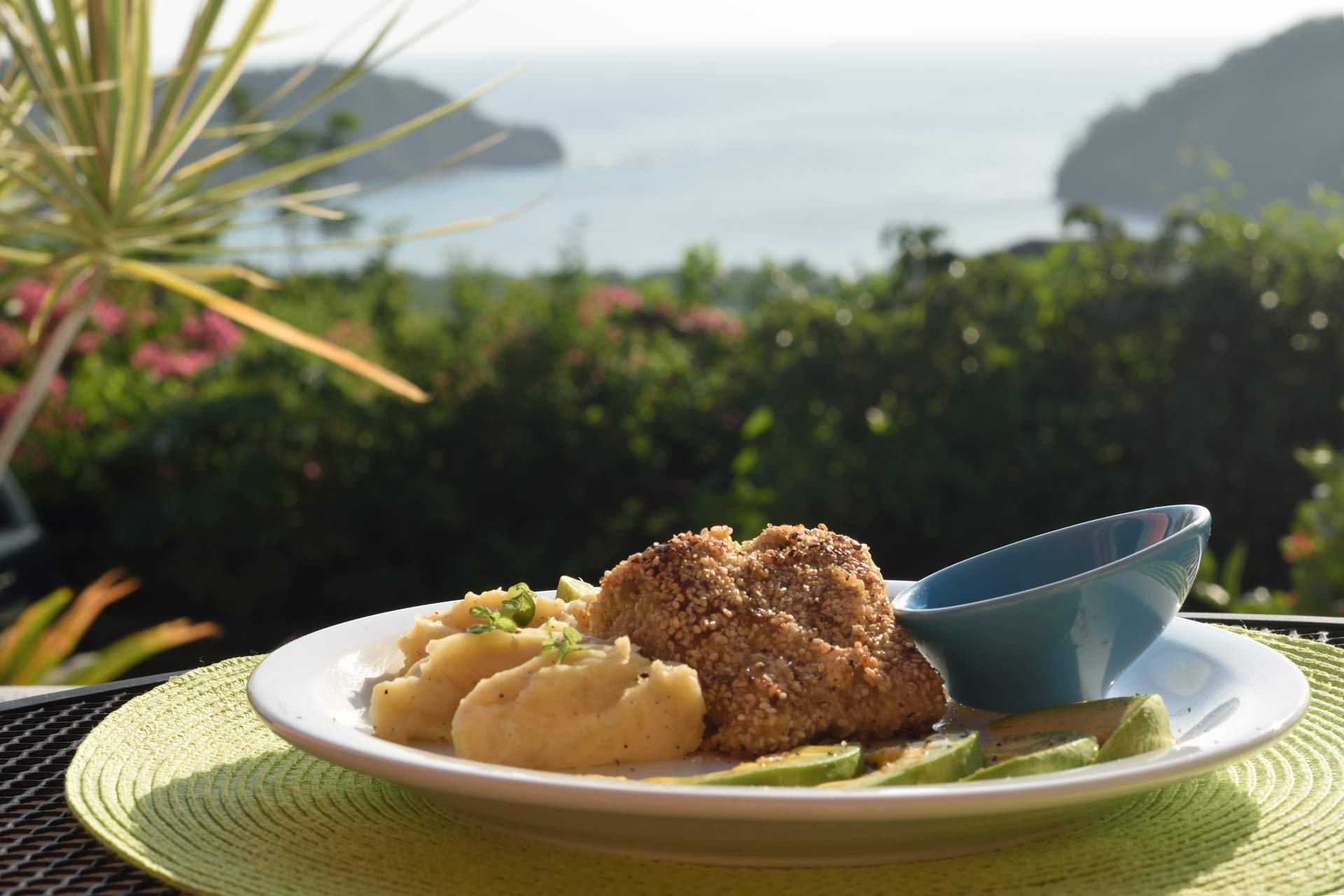 French restaurant with exceptional view san juan del sur for Cafe jardin menu